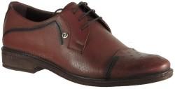 ISPARTALILAR - Ayakkabiburada 97 Hakiki Deri Taba Erkek Klasik Ayakkabı (40-44)