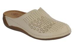 Carlaverde - Carlaverde 151390 Ortopedi Önü Kapalı Kadın Terlik Ayakkabı