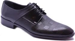 ISPARTALILAR - Craft Shoes 121/3 Hakiki Deri Siyah Rugan Erkek Klasik Ayakkabı