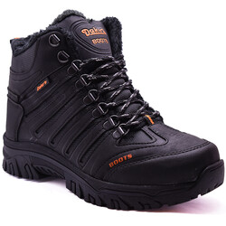 Dakırs - Dakırs 116 Ortopedi Rahat Siyah Erkek Bot Ayakkabı (40-44)