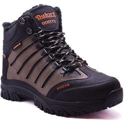 Dakırs - Dakırs 116 Ortopedi Soğuk Geçirmez Erkek Bot Ayakkabı (40-44)