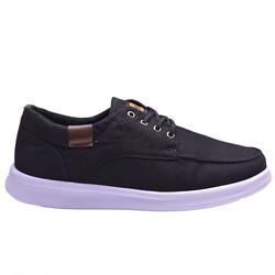 Dakırs - Ayakkabiburada 011 Ortopedi Taban Siyah Günlük Erkek Spor Ayakkabı (40-44)