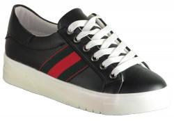 Endless - Endless Ortopedi Taban Siyah Günlük Bayan Spor Ayakkabı (36-40)