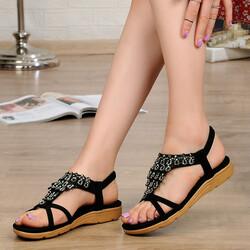 Guja - Guja 21Y120-2 Topuk Masajlı Ortopedi Kadın Sandalet