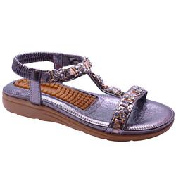 Guja - Guja 21Y120-27 Ortopedi Topuk Masajlı Kadın Sandalet
