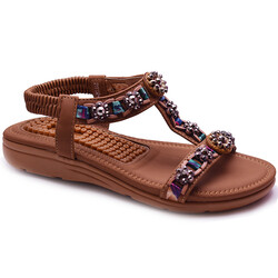 Guja - Guja 21Y150-49 Ortopedi Taban Kadın Sandalet