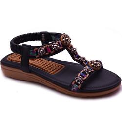 Guja - Guja 21Y150-49 Taban Masajlı Ortopedi Kadın Sandalet