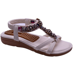 Guja - Guja 21Y150-50 Taban Masajlı Ortopedi Kadın Sandalet