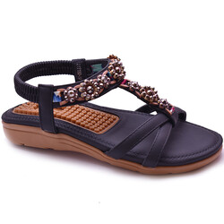 Guja - Guja 21Y150-50 Topuk Masajlı Ortopedi Kadın Sandalet