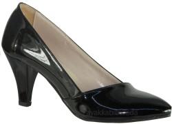 ISPARTALILAR - Ispa 101 Rugan Siyah Bayan Topuklu Ayakkabı (36-40)