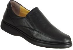 ISPARTALILAR - Ispartalılar Ortopedi Deri Siyah Bağlı Erkek Klasik Ayakkabı (40-44)