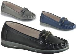 ISPARTALILAR - La Moor Ortopedi Günlük Bayan Babet Ayakkabı (36-40) 3 FARKLI RENK