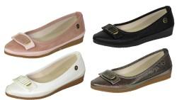 ISPARTALILAR - La Moor Ortopedi Günlük Bayan Babet Ayakkabı (36-40) 4 RENK