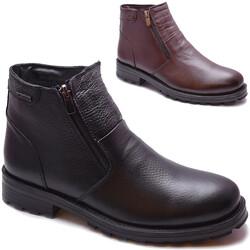 M.P ONE - Mp 212-4401 Ortopedi Hakiki Deri Erkek Bot Ayakkabı (40-44)