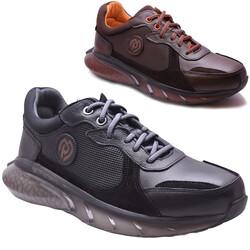 M.P ONE - Mp 212-4476 Ortopedi Hakiki Deri Günlük Erkek Ayakkabı (40-44)