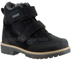 Pinokyo - pinokyo 6011 Siyah Erkek Çocuk Bot Ayakkabı (31-35)