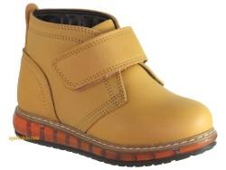 Pinokyo - Pinokyo 7029 9014 Sarı Rahat Taban Kız Çocuk Bot Erkek Bot Ayakkabı