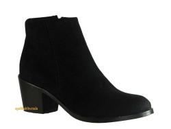 Riccardo Colli - Riccardo Colli Shamdan Rahat Siyah Topuklu Bayan Bot Ayakkabı