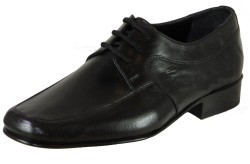 ISPARTALILAR - Suphi Şeker 105 Siyah Bağcıklı Kösele Erkek Ayakkabı (39-44)
