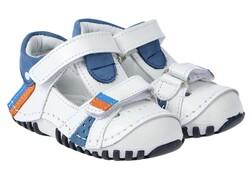 Teo Bebe - Teo Bebe 102 Hakiki Deri Ortopedi Erkek Çocuk İlkadım Ayakkabı