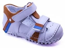 Teo Bebe - Teo Bebe 104 Hakiki Deri Ortopedi Erkek Çocuk İlkadım Ayakkabı