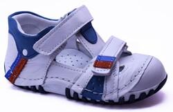 Teo Bebe - Teo Bebe 106 Hakiki Deri Ortopedi Erkek Çocuk İlkadım Ayakkabı
