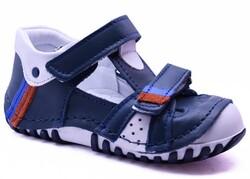 Teo Bebe - Teo Bebe 107 Hakiki Deri Ortopedi Erkek Çocuk İlkadım Ayakkabı