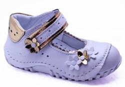 Teo Bebe - Teo Bebe 112 Hakiki Deri Ortopedi Kız Çocuk İlkadım Ayakkabı