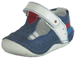 ISPARTALILAR - Teo Bebe Ortopedi Hakiki Deri Erkek Bebe İlk Adım Ayakkabı (18-24)