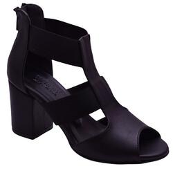ISPARTALILAR - Witty 89 CİLT Kadın Topuklu Ayakkabı Sandalet (36-40)