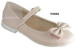 DİĞER - Yükseliş Ortopedi Pudra Kız Çocuk Babet Ayakkabı (26-35)